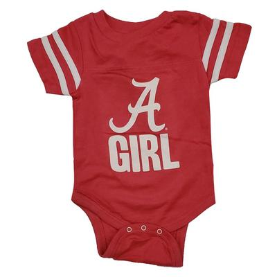 Alabama Script A Girl Onesie