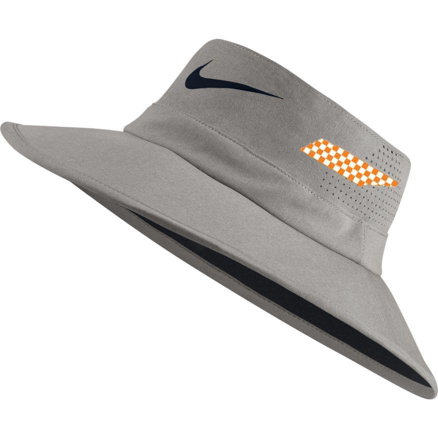 Tennessee Nike Golf Checker State Uv Flex Bucket Hat