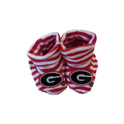 Georgia Infant Striped Booties