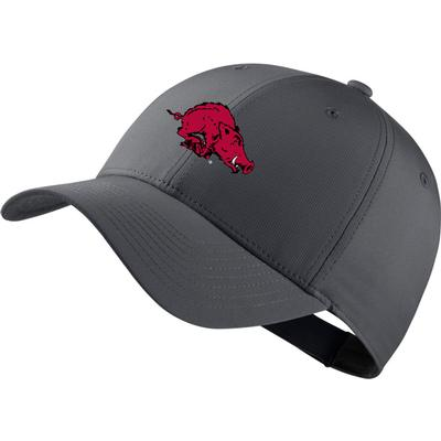 Arkansas Nike Golf Dri-Fit Retro Running Hog Tech Cap