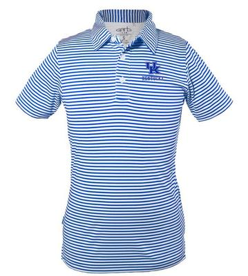 Kentucky Youth Carson Striped Polo