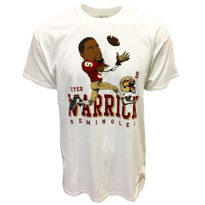 Florida State Retro Brand Peter Warrick Tee