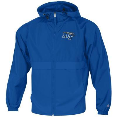 MTSU Champion Full Zip Lightweight Jacket