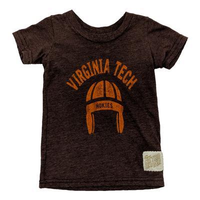 Virginia Tech Retro Brand Toddler Tri-Blend Helmet T-Shirt