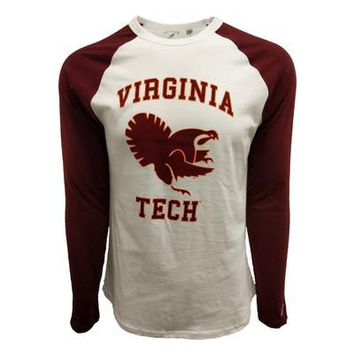 Virginia Tech League Fighting Gobbler L/S Baseball T-Shirt