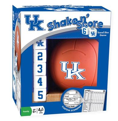 Kentucky Basketball Shake and Score Traveling Dice Game