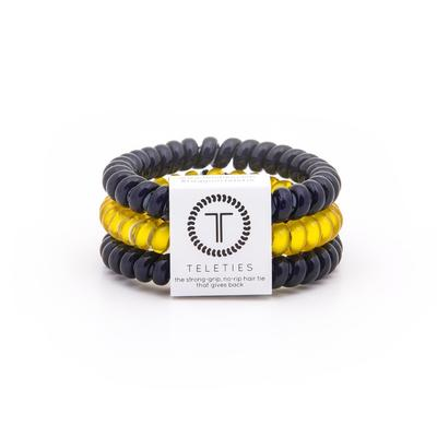 Navy & Yellow Small Teleties