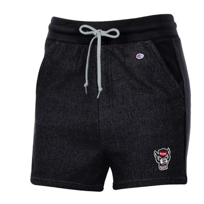 NC State Champion Women's Reverse Weave French Terry Short