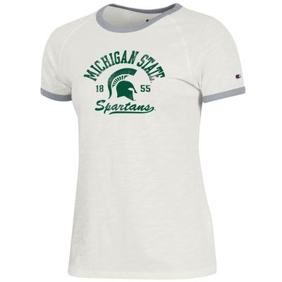 Michigan State Champion Women's Rochester Slub Ringer Tee