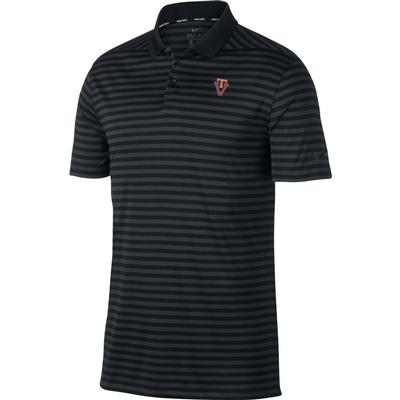 Virginia Tech Nike Golf Vault Logo Dry Victory Stripe Polo