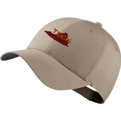 Virginia Tech Nike Golf Dri-Fit Vault Logo Tech Cap