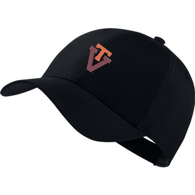 Virginia Tech Nike Golf Dri-Fit Retro Logo Tech Cap