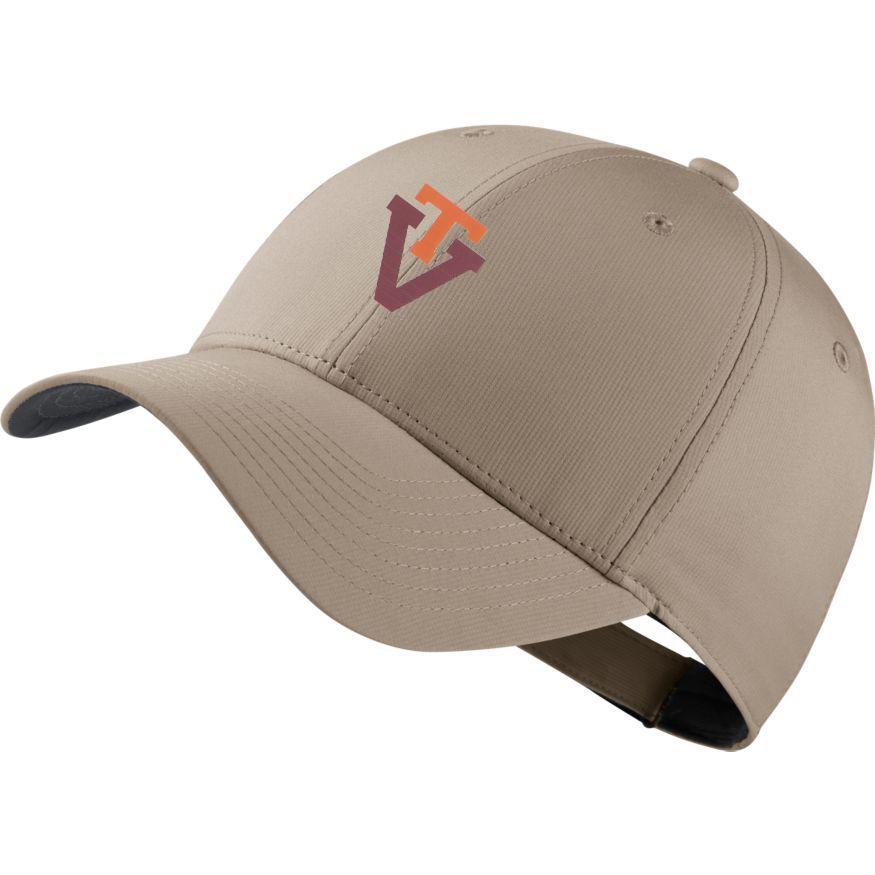 Virginia Tech Nike Golf Dri- Fit Retro Logo Tech Cap