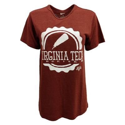 Virginia Tech Lauren James Tail Feather T-Shirt