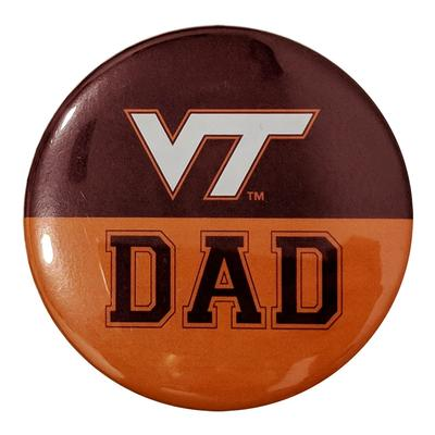 Virginia Tech Dad Button