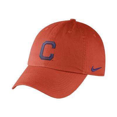 Clemson Nike Heritage 86 Adjustable Hat