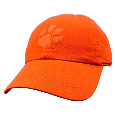 Clemson Nike Heritage 86 Pigment Washed Adjustable Hat