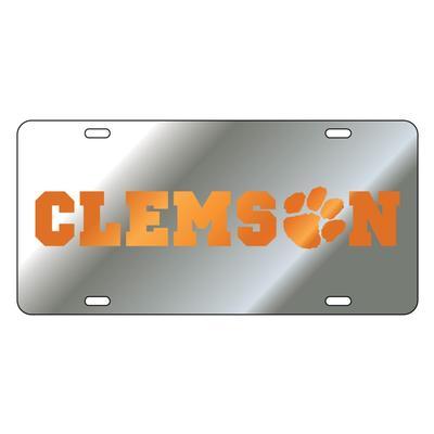 Clemson Mirror License Plate