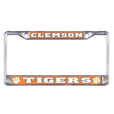Clemson Metal License Plate Frame