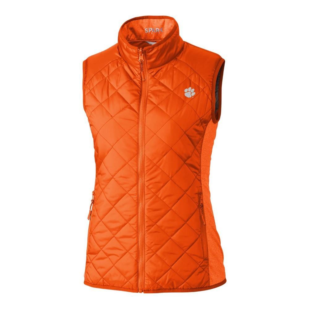 Clemson Cutter & Buck Women's Sandpoint Vest