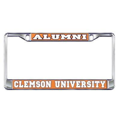 Clemson Alumni Metal License Plate Frame