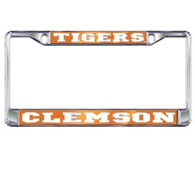 Clemson Tigers Metal License Plate Frame