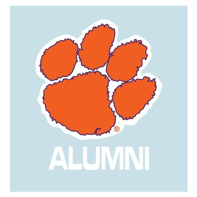 Clemson Paw Alumni Decal