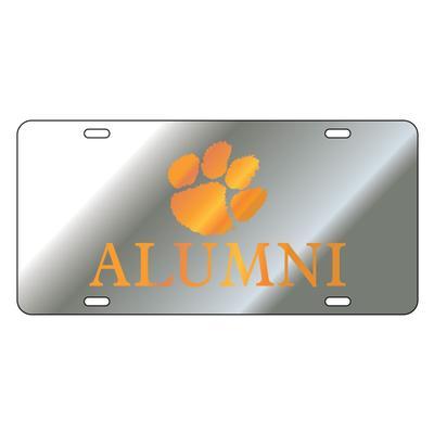 Clemson Paw Alumni License Plate
