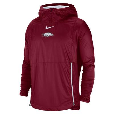 Arkansas Nike Pullover Fly Rush Jacket