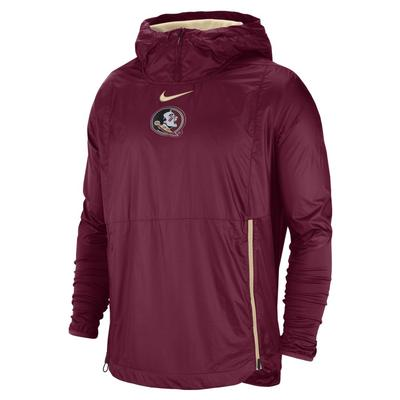 Florida State Nike Pullover Fly Rush Jacket
