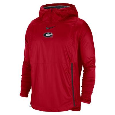 Georgia Nike Pullover Fly Rush Jacket