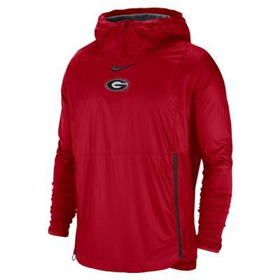 Georgia Nike Pullover Fly Rush Jacket
