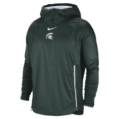 Michigan State Nike Pullover Fly Rush Jacket