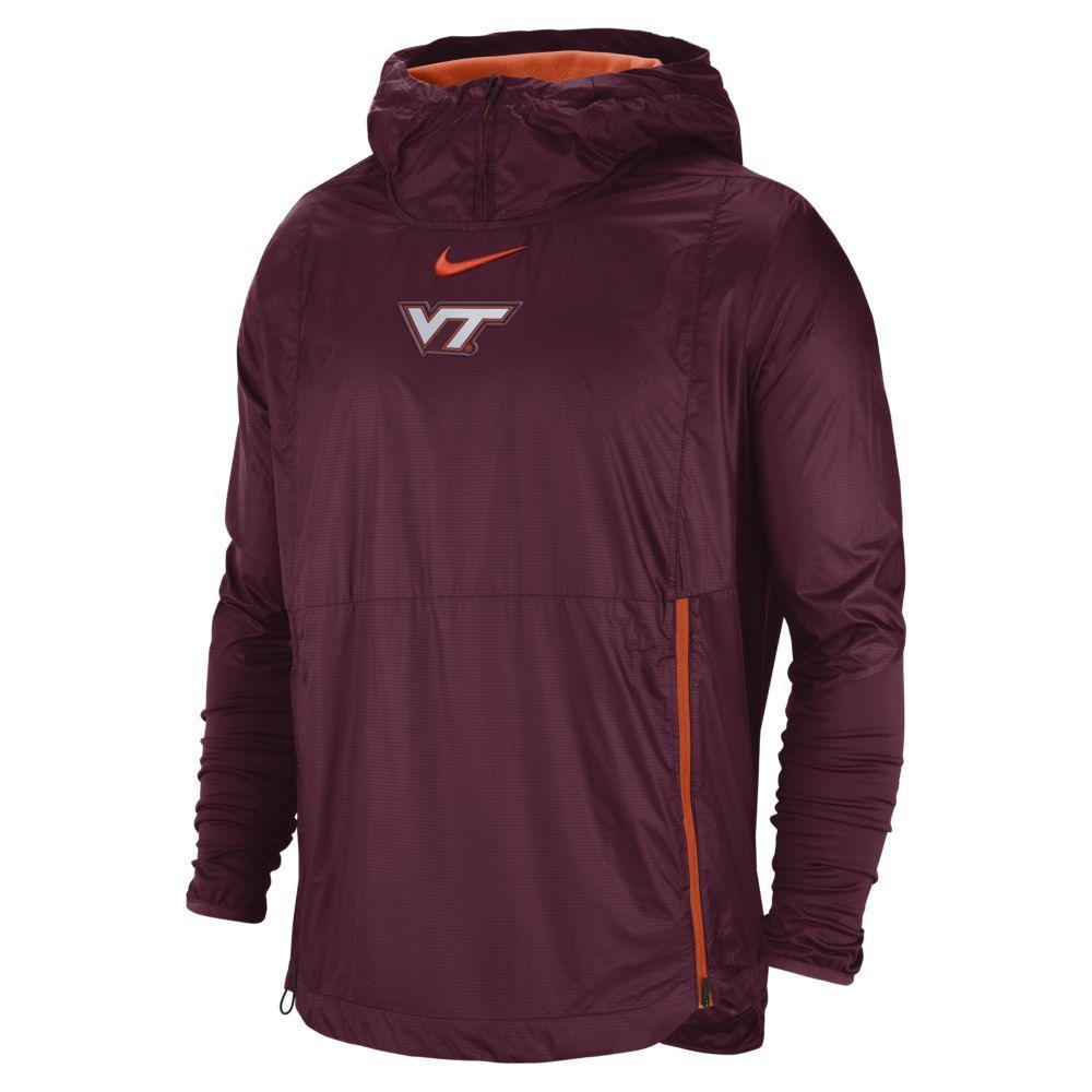 Virginia Tech Nike Pullover Fly Rush Jacket