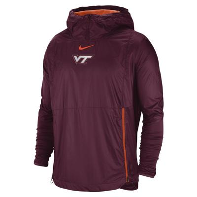 Virginia Tech Nike Pullover Fly Rush Jacket
