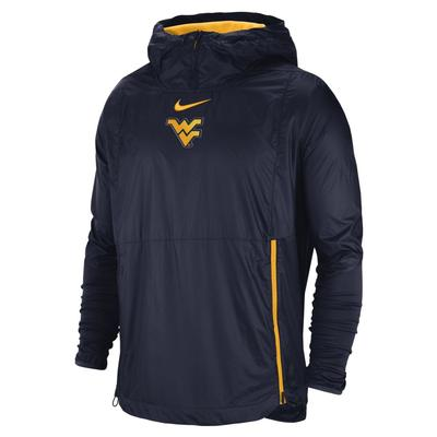 West Virginia Nike Pullover Fly Rush Jacket