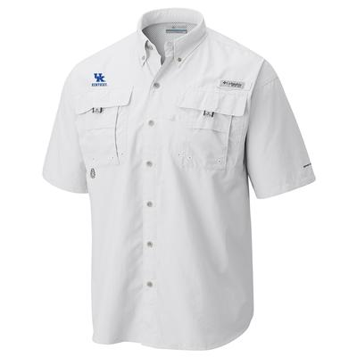 Kentucky Columbia Bahama Short Sleeve Woven Shirt