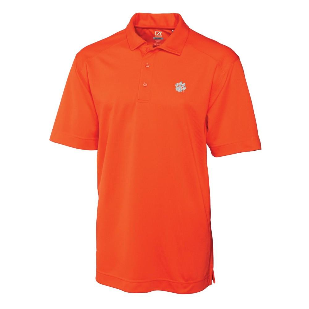 Clemson Cutter And Buck Big And Tall Genre Polo