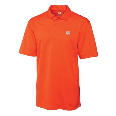 Clemson Cutter and Buck Big and Tall Genre Polo ORG