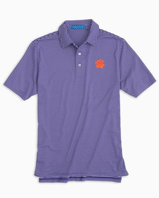 Clemson Southern Tide Gameday Stripe Polo