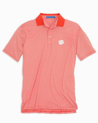 Clemson Southern Tide Gameday Feeder Stripe Polo