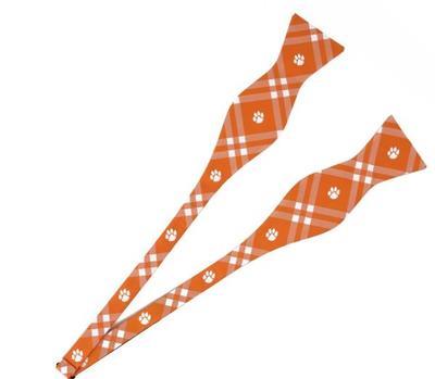 Clemson Rhodes Self Tie Bow Tie