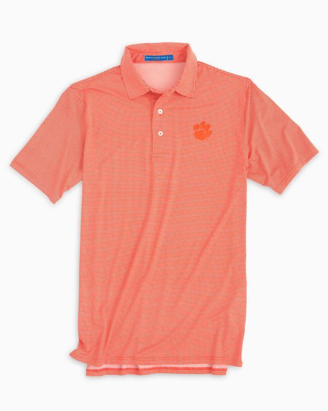 Clemson Southern Tide Gameday Tattersall Polo