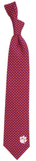 Clemson Diamante Tie