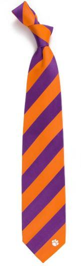 Clemson Regiment Stripe Tie