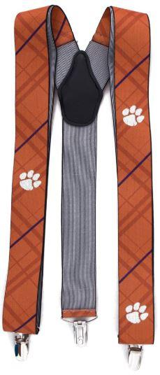 Clemson Oxford Stripe Suspenders