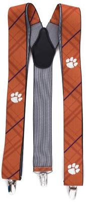 Clemson Oxford Stripe Suspenders