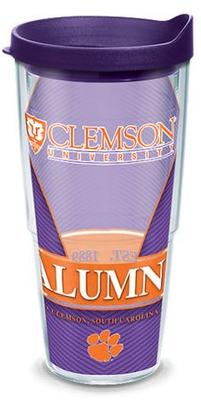 Clemson Tervis Alumni Wrap 24oz Tumbler