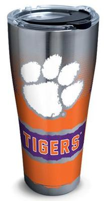 Clemson Tervis 30oz Knockout Stainless Steel Tumbler