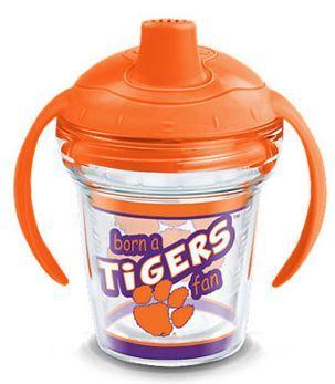 Clemson Tervis 6oz Born A Fan Sippy Cup Wrap W/Lid